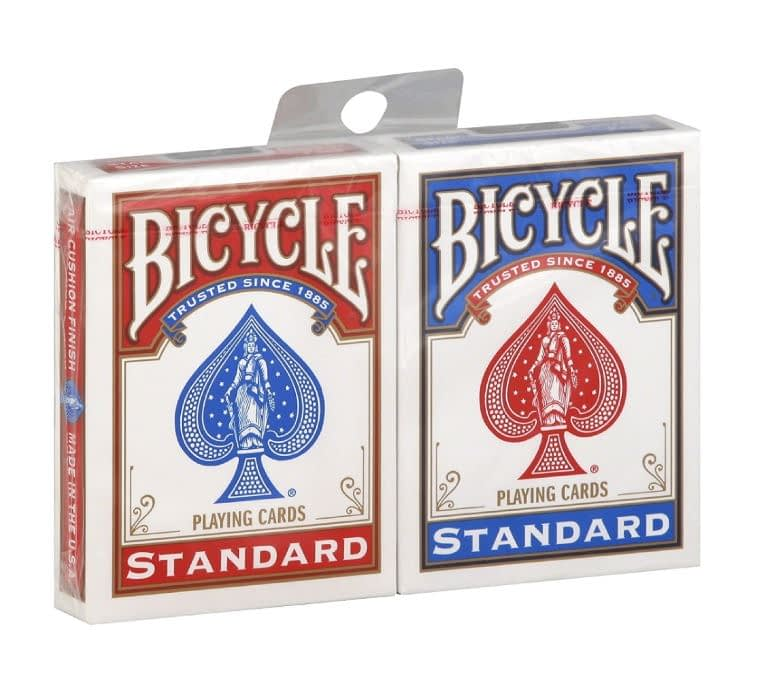 deux paquets de cartes bicycles